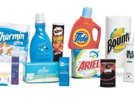 Procter Gamble reduce costurile. Divizia pentru Europa de Vest ar putea fuziona cu cea din Est