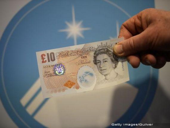 Se schimba banii in Marea Britanie. Decizia, o lovitura dura pentru De La Rue, singurul furnizor de bancnote pentru Banca Angliei. FOTO