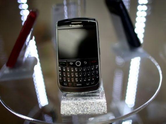 Rezultate negre pentru BlackBerry. Pierderi de 4,4 mld. dolari in trim. II, la venituri de 1,2 mld. dolari