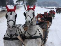 Alternativa la statiunile aglomerate. Craciun traditional in satele romanesti, cu pomana porcului, tuica fiarta si plimbare cu sania