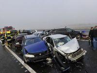 La 3 zile de la inaugurare, 31 de masini au fost avariate pe autostrada Sibiu-Orastie. CNADNR, amendata cu 8.000 lei