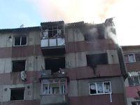 Explozie la Calarasi. O persoana a murit la spital, iar alte patru au avut nevoie de ajutor