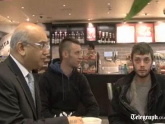 Romanul care a  invadat  Marea Britanie. AFP: Presa din Regat se concentreaza asupra unui singur muncitor imigrant, sosit pe 1 ianuarie