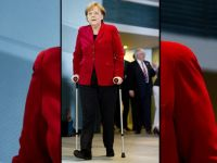 Cancelarul german Angela Merkel s-a accidentat la schi