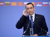 """Ponta: """"Am incheiat anul cu un deficit de 2,5% din PIB si crestere economica mai mare"""""""
