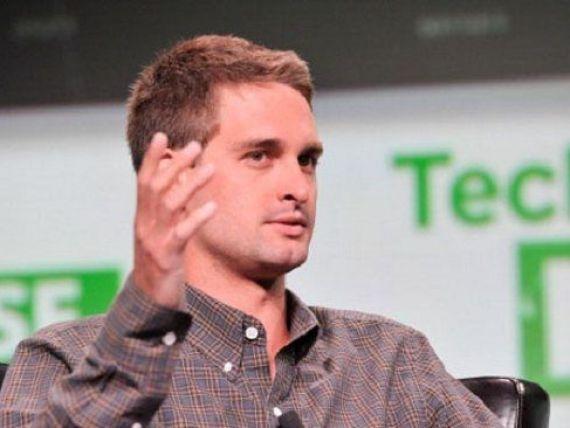 CEO-ul Snapchat explica de ce a respins oferta de 3 miliarde de dolari de la Facebook