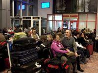 Curse cu intarzieri de 4 ore, din cauza cetii, pe aeroportul din Cluj