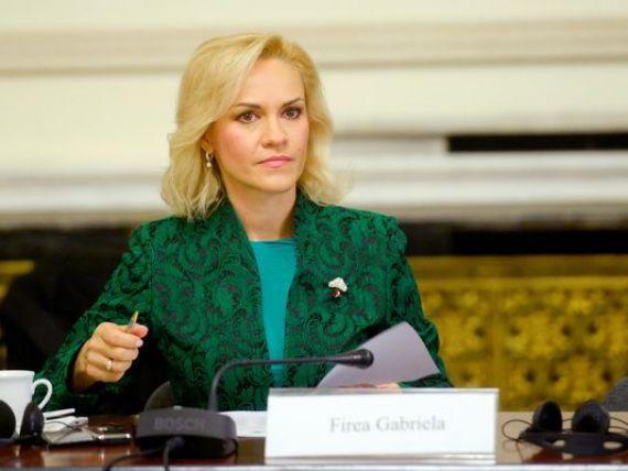 Senatorul Gabriela Firea demisioneaza din PSD, dupa decizia PNL de a colabora cu PDL in Ilfov