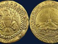 Prima moneda din aur emisa in Statele Unite, vanduta la licitatie cu peste 4,5 milioane de dolari