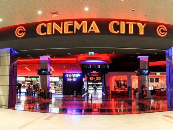 Cinematografele Cinema City din Romania intra sub umbrela britanicilor