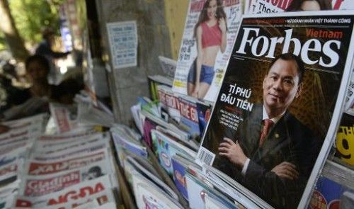 FT: Sase investitori, interesati sa preia revista americana Forbes. Pretul de vanzare: 500 mil. euro