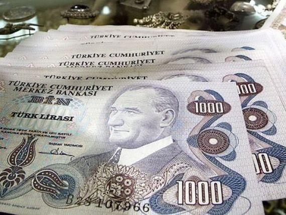 Turcia salveaza monedele emergente. Lira inregistreaza cea mai puternica apreciere din 2008, dupa o decizie soc a bancii centrale de la Ankara. Bursele mondiale, in crestere