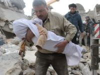 """Raport socant. Suferintele de """"nedescris"""" la care au fost supusi copiii din Siria, in cei trei ani de razboi - ONU"""