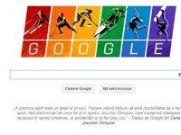 Noul logo Google, dedicat JO de Iarna, militeaza pentru drepturile persoanelor gay