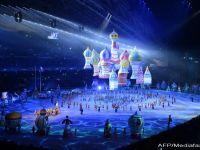 Ceremonia de deschidere a Jocurile Olimpice, in imagini. Televiziunea rusa a ascuns eroarea cercurilor olimpice