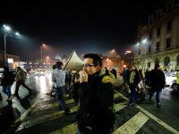 Proteste in centrul Capitalei. Manifestarile fata de proiectul Rosia Montana, explorarea gazelor de sist si noul Cod Penal, incheiate dupa 4 ore