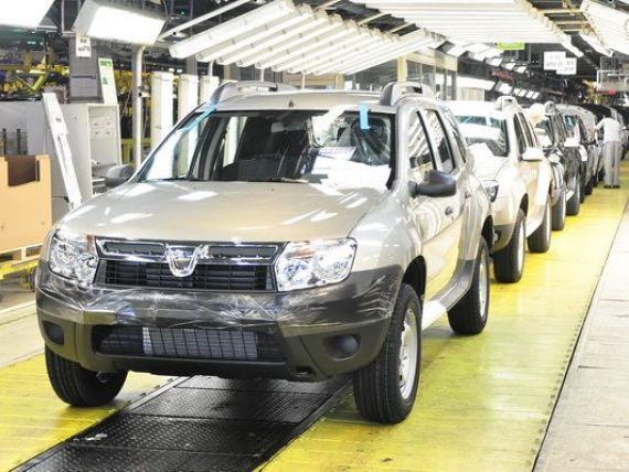 Vanzarile auto din UE au urcat cu 8% in februarie. Dacia inregistreaza din nou cea mai mare crestere