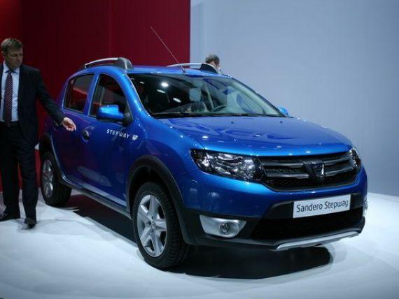 Patru modele produse in Romania - trei Dacia si Ford B-Max - intre cele mai vandute 125 de masini din Europa