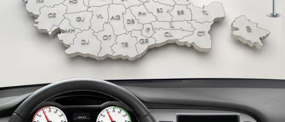 Romania, la examenul auto: Harghita