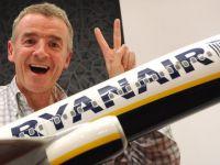 O alta gafa marca Ryanair. Operatorul retracteaza anuntul privind lansarea de zboruri transatlantice low-cost
