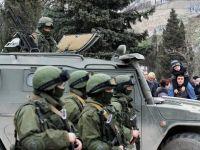 """Ucraina cere ajutor international pentru a se apara de """"agresiunea"""" rusa. Organizatia extremista Sectorul Dreapta ameninta ca va riposta. CNN: Trupe ruse au inconjurat bazele militare ucrainene din Crimeea"""