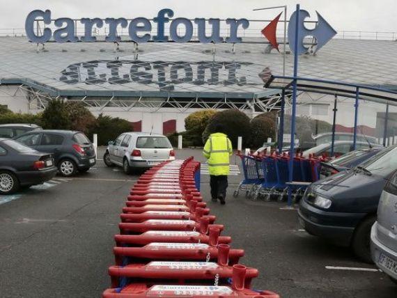 Vanzarile Carrefour au inregistrat anul trecut o crestere de 4%, la 84 miliarde euro, in principal ca urmare a cresterii cererii de alimente