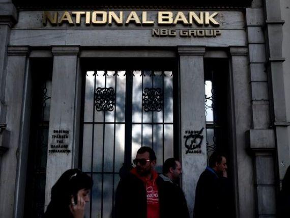 Bancile din Grecia au nevoie de capital suplimentar de 6,4 mld. euro, o treime din suma fiind necesara pentru National Bank of Greece, care detine Banca Romaneasca