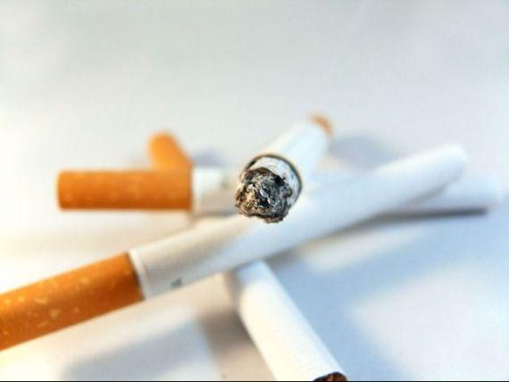 Majorarea accizelor scumpeste tigarile cu pana la 50 de bani pe pachet, de la 1 aprilie