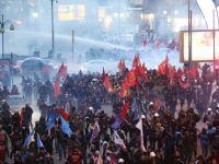 Proteste la Ankara. Politia turca foloseste gaze lacrimogene impotriva manifestantilor