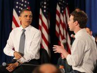 Fondatorul Facebook l-a sunat pe Obama pentru a se plange de spionajul online