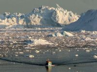 Incalzirea globala a topit ultima regiune stabila din calota glaciara a Groenlandei