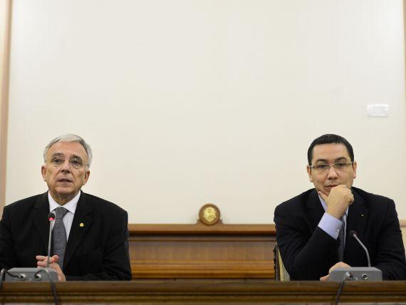 Ponta:  Am discutat de mai multe ori azi cu Isarescu, pentru a gasi persoana pentru sefia ASF. Inca nu am luat o decizie
