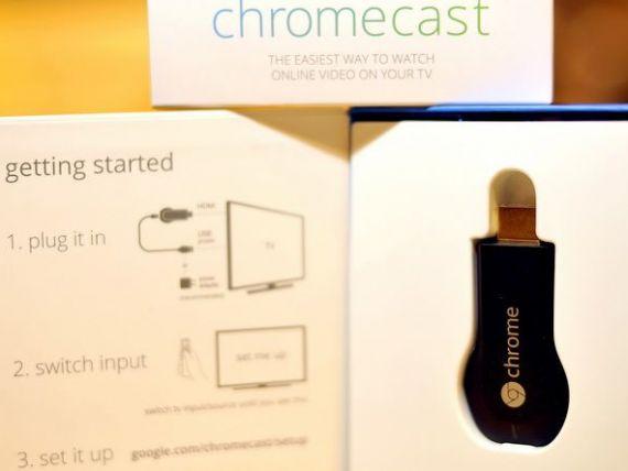 Google a lansat serviciul Chromecast in Europa. Dispozitivul care elimina barierele dintre web si TV