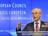 """Seful Consiliului European: """"UE va elabora un plan de actiune, pana in iunie, pentru reducerea dependentei energetice"""""""