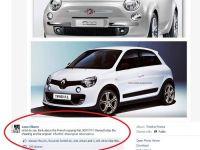 """""""Nepotul lui Juventus"""" acuza Renault de furt. Fiat 500 Vs. Renault Twingo. Care e originalul si cine a copiat?"""
