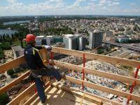 Romania, cea mai abrupta scadere din UE a lucrarilor de constructii, in iulie