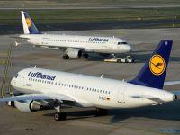 Opt curse Lufthansa de la Bucuresti spre Munchen si Frankfurt, anulate din cauza grevei pilotilor