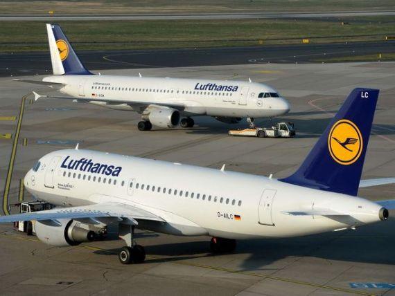 Lufthansa a anulat 218 zboruri din cauza grevei pilotilor. 26.000 de pasageri, afectati. Pierderi de milioane de euro