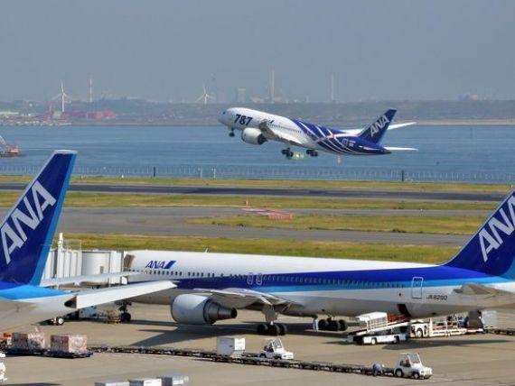 Cea mai mare achizitie efectuata vreodata de o companie aeriana. Operatorul japonez ANA Holdings a cumparat avioane in valoare de 16,6 mld. dolari, de la Boeing si Airbus