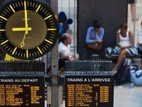 Circulatia trenurilor Eurostar, suspendata din cauza unui incendiu provocat de un fulger