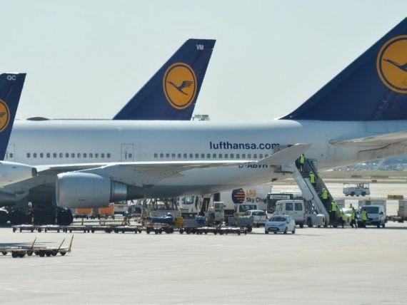Greva la Lufthansa: 3.800 de zboruri sunt anulate in urmatoarele trei zile. Recomandarile MAE pentru romani