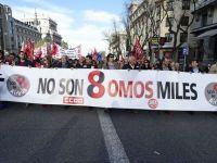 Proteste de amploare, in Spania, impotriva austeritatii