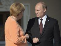 Angela Merkel ameninta Rusia cu sanctiuni economice