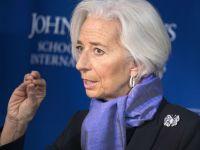 Lagarde, FMI: Pietele financiare ar putea fi prea optimiste in privinta Europei