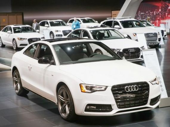 Audi a inregistrat in martie cele mai bune vanzari lunare din istoria companiei, egaland performanta Mercedes