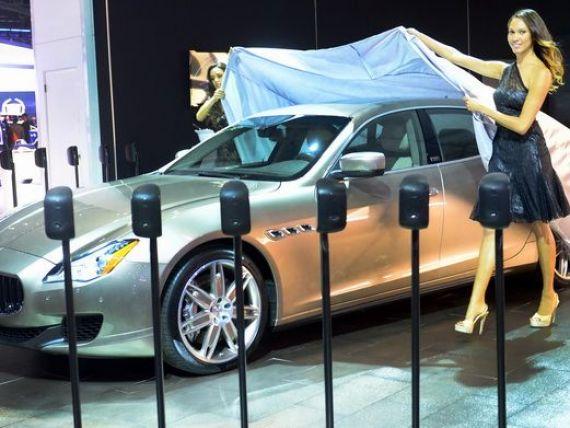 Maserati estimeaza triplarea vanzarilor in acest an, sustinute de cererea pentru masini de lux