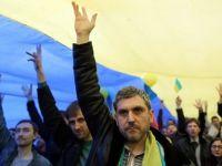 Peste 2.000 de persoane au manifestat la Donetk pentru o Ucraina unita