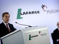 Holcim si Lafarge ar putea vinde active cu profituri de circa un miliard de dolari, in urma fuziunii