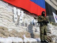 CRIZA din Ucraina. Militanti separatisti prorusi au ocupat televiziunea regionala de la Donetk. Observatori OSCE, luati ostatici, dintre care unul a fost eliberat