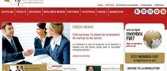 www.femei-in-afaceri.ro - oportunitati de promovare si informare pentru femeile din mediul de business romanesc